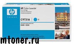 HP C9731A принт-картридж голубой для CLJ 5500 серии