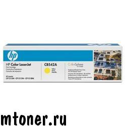 HP CB542A принт-картридж для CP1215, 1515, CM1312, желтый, 1400 стр.