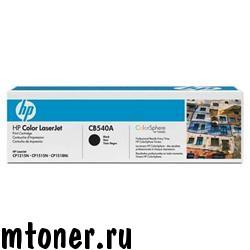 HP CB540A принт-картридж для CP1215, 1515, CM1312, черный, 2200 стр.