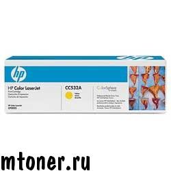 HP CC532A принт-картридж желтый для CP2025, CM2320