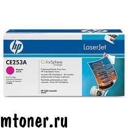 HP CE253A картридж для HP Сolor LaserJet CP3525, CM3530, пурпурный, 7000 стр.