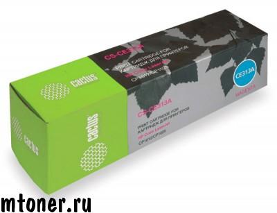 Картридж CACTUS CS-CE313A для HP Color LaserJet CP1012 Pro, CP1025 Pro, пурпурный, 1000 стр.