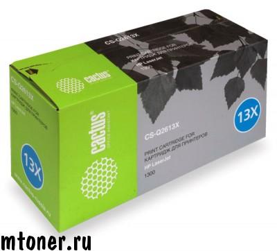 Картридж CACTUS CS-Q2613X для HP LaserJet 1300, 1300N, 4000 стр.
