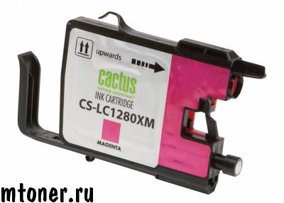 Картридж CACTUS CS-LC1280XM для Brother MFC-J6510, 6910DW, пурпурный, 16.6 мл.
