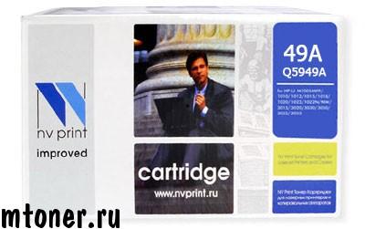 Картридж NV Print Q5949A для HP Laser Jet 1160, 1320, 3390, 3392, 2500 стр.