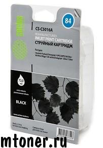 Картридж Cactus CS-C5016A  84, черный, для  HP DesignJet 10PS, 20PS, 30, 30GP, 30N, 50PS, 90, 90GP, 90R, 120, 120NR