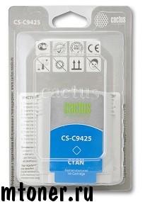 Картридж Cactus CS-C9425 №85 для HP DesignJet 30, 90, 130. голубой, 29 мл.