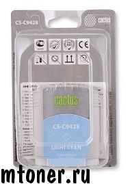 Картридж Cactus CS-C9428 №85 для HP DesignJet 30, 90, 130, светло-голубой, 72 мл.