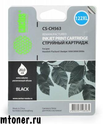 Картридж Cactus CS-CH563 № 122XL, черный, для HP Deskjet 1050, 2050, 2050s